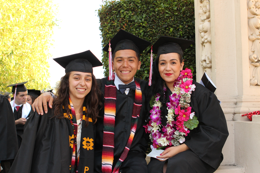 three city college graduates