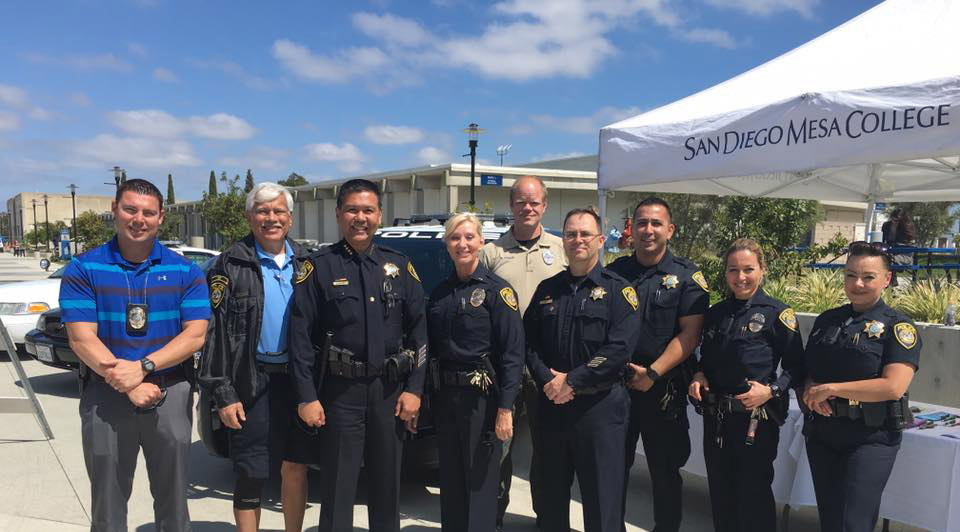 SDCCD police officers