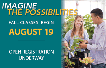 Open registration fall 2019