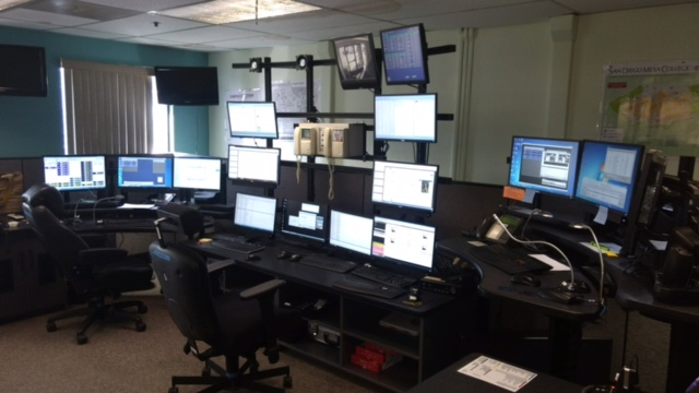 college police dispatch center