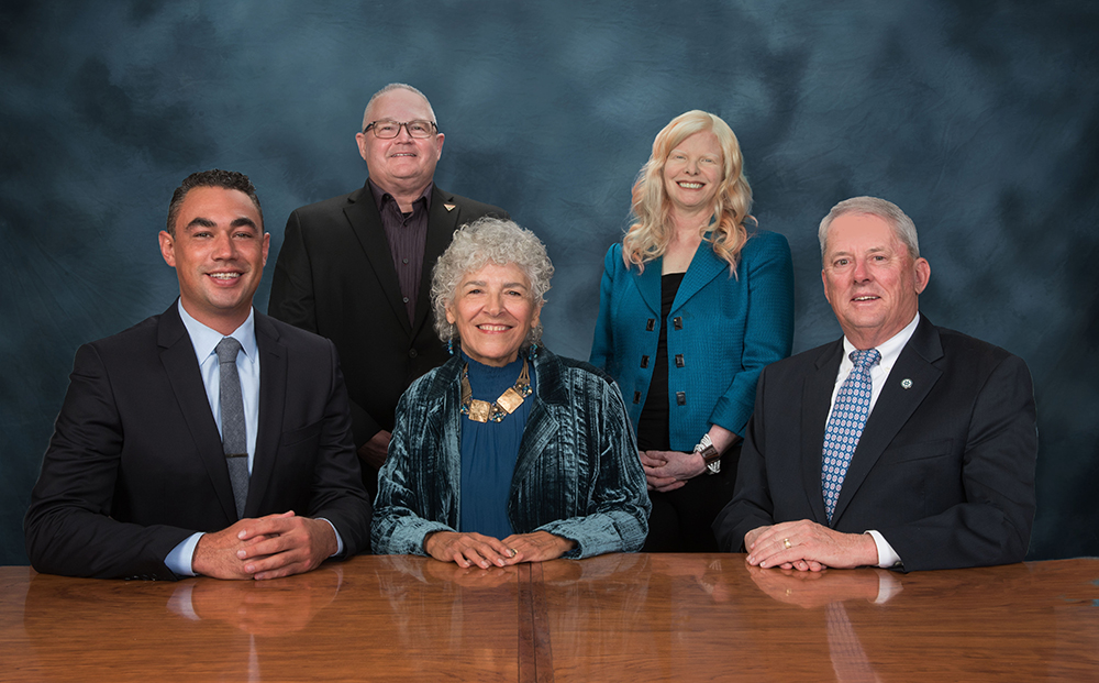 Board of trustees group photo